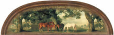 God Forbid There Be A Heaven Without Horses Wallpaper Accent Mural HJ6644M