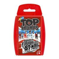 Top Trumps World Football Stars Card Game Pack