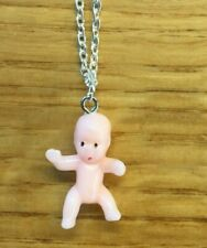 Cute baby doll necklace