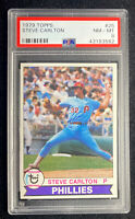 1979 Topps #25 - STEVE CARLTON (HOF) - Philadelphia Phillies - PSA 8 NM-MT