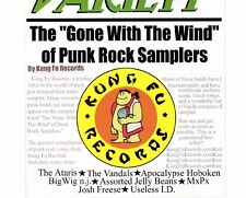 CD THE GONE WITH THE WIND OF PUNK ROCK SAMPLERSkung fu recordsEX  (B1249)