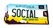 Social Paintball Barrel Condom Cover Bag - Arizona State License Plate