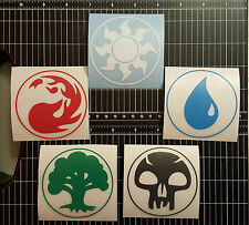 MTG - Magic - Mana Symbol Multipack - Vinyl Decals