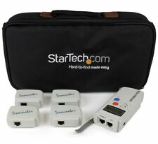 StarTech Professional RJ45 Network Cable Tester with 4 Remote Loopback Plugs