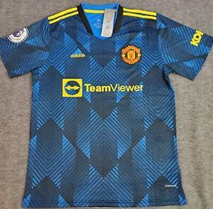 jersey manchester united 21/22 third blue