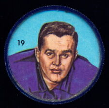 1963 CFL NALLEY'S FOOTBALL SP COIN #19 Norm Stoneburgh EX+ Toronto Argonauts