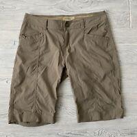Royal Robbins Hiking Shorts Womens Size 4 Tan