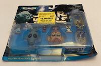 Star Wars Micro Machines Boba Fett, Admiral Ackbar, Gamorrean Guard NEW Galoob