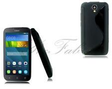 Fundas y carcasas Huawei color principal negro de silicona/goma para teléfonos móviles y PDAs