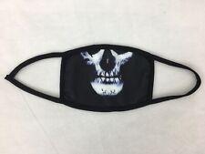 Skeleton Sugar Skull Mask 3D Print 2 Layer Face Mask Washable Cover Soft Cloth
