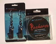 Seahorse Downrigger Stainless Cable (300 ft) With Terminator kit by Troll-Master