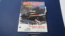 1998 Ski-doo SKANDIC WIDE TRACK L.C. Snowmobile Parts Manual #480 1452 00