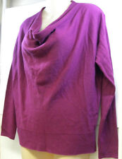 Ann Taylor Factory Purple Cowl Neck Long Sleeve Sweater New Size Small