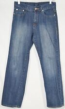 "BOGARI Blue Stretch Denim Jeans 8 5 Pockets 29.5"" Inseam Buttoned Rear Pockets"