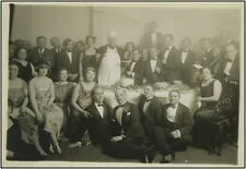 Feodor CHALIAPIN (Bass): Original Photograph, 1922 Farewell Party