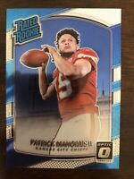 PATRICK MAHOMES 2017 DONRUSS OPTIC #177 RATED ROOKIE RC CHIEFS *READ