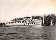 B98775 real photo wodan berlin weisse flotte  germany  ship bateaux