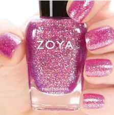 ZOYA ZP739 BINX orchid purple w/ gold holographic jelly nail polish~BUBBLY *New