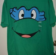 Retro Unisex Tee T-Shirt Size Large Green Short Sleeve Ninja Turtle NWT Kohl's