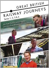 Great British Railway Journeys Series 1 - 4 Season 1 2 3 4 Region 4 New 19 x DVD