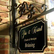 Ladenschild, Werbe Schild für Restaurant + Café, großer Nostalgie Aushang