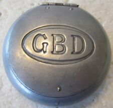 RARE VINTAGE HAND HELD ALUMINUM GOLF BALL WASHER ADVERTISING GBD