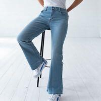 Levi's 518 Bootcut Hellblau Damen Jeans DE 38 / W31 L32