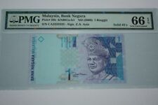 (PL) NEW OFFER: RM 1 CA 3333333 PMG 66 EPQ ZETI 11TH SERIES SOLID NUMBER 3 UNC