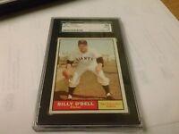 SGC GRADE 1961 TOPPS#96 BILLY O'DELL