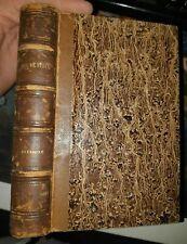 Relié Delphine par Madame de Stael 1854 charpentier