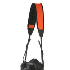 Air Cell Cushion Decompression Camera Shoulder Neck Strap Sling Belt Pad Orange