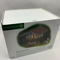 Dept 56. Dickens Village Gad's Hill Chalet - New in Box