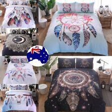 Dream Catcher Duvet Doona Quilt Cover Set Indian Bedding Set Queen King Size Bed