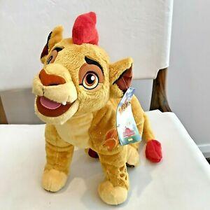 DISNEY The Lion Guard KION 30cm PLUSH TOY NEW The Lion King - NWT