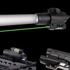 Combo Cree LED 300LM Flashlight&Green Laser Sight 20mm Rail For Rifle Pistol Gun