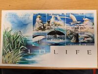 New zealand stamps  1997 Wildlife Issue set on FDC