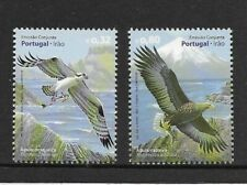 Portugal  BIRDS of prey issue of 2 MINT NH
