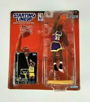 1998 NBA Starting Lineup Magic Johnson Los Angeles Lakers Action Figure