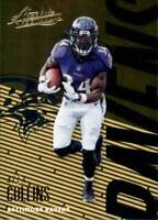 2018 Panini Absolute Base #8 Alex Collins Baltimore Ravens