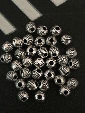 PJ256 /50pcs Tibetan Silver Charm Spacer Beads Pendant accessories wholesale