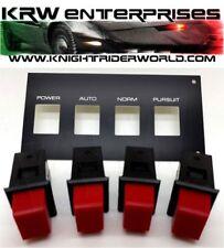 82 PONTIAC FIREBIRD KNIGHT RIDER KITT K2000 KARR PANP SET WITH PLASTIC OVERLAY