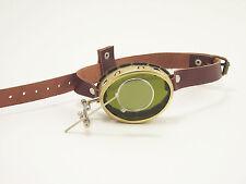 Steampunk Brass Monocle Mad Scientist Steam Punk Glasses Sunglasses Cosplay LARP