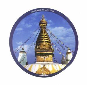 Mouse Pad Stupa Nepal Buddhism Tibet