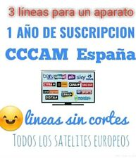 💯 x 💯++CCCAM 3 CLINES 1 AÑO ENVIÓ INMEDIATO ATENCIÓN 24/7/365 WHATSAPP