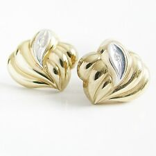 Ohrringe Gold 333er Diamant Ohrstecker 8 kt. Goldschmuck Damen