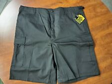 New Rothco Ultra Force BDU Shorts, 65206, Black, Size XL, with Tags