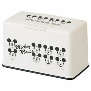 Disney Mickey Mouse Genuine Mask Stocker (one touch open) 60 sheets storage F/S