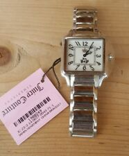 NWOB JUICY COUTURE PIPER Silver Watch/Crown! NEW