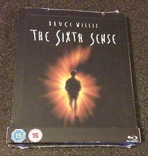THE SIXTH SENSE Blu-Ray SteelBook Zavvi UK Exclusive Region Free. New OOP & Rare