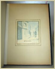 "George CRUIKSHANK ""The Serenade"" original watercolour sketch SIGNED"